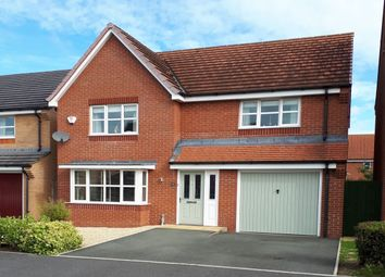 Thumbnail 4 bed detached house for sale in Wellman Avenue, Brymbo, Wrexham