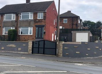Thumbnail 3 bed semi-detached house to rent in New Hey Road, Salendine Nook, Huddersfield