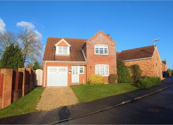 Thumbnail 4 bed detached house for sale in Northfield Rise, Saxilby
