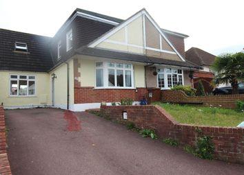 Thumbnail 4 bedroom semi-detached bungalow for sale in Woodlands Road, Gillingham, Kent.