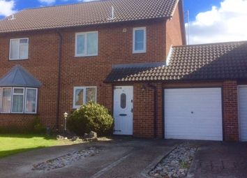 Thumbnail 3 bed semi-detached house to rent in Cardinal Close, Worcester Park