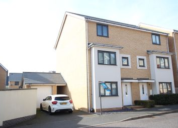 Thumbnail 4 bed town house for sale in Fan Avenue, Colchester