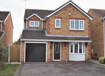 Thumbnail 4 bed detached house for sale in Pinfold Drive, Worksop