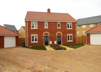Thumbnail 3 bed semi-detached house for sale in Off Richmond Road, Downham Market, Norfolk