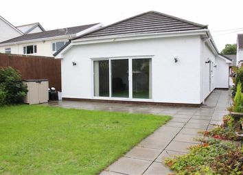 Thumbnail 2 bed semi-detached bungalow for sale in Glebe Road, City And County Of Swansea, Loughor