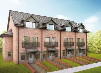 """Thumbnail 3 bedroom terraced house for sale in """"The Bowater"""" at Blinkbonny Road, Currie"""