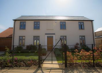 Thumbnail 4 bed detached house for sale in Manor Farm, Newmarket Road, Stretham, Cambridgeshire