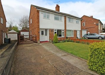 Thumbnail 3 bed semi-detached house for sale in Highwood Grove, Moortown, Leeds