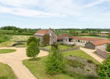 Thumbnail 6 bedroom detached house for sale in West Cranmore, Somerset
