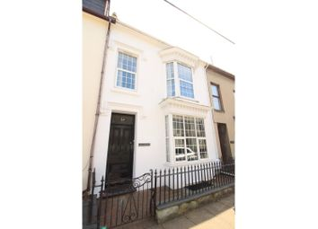 Thumbnail 4 bed town house for sale in Snowdon Street, Porthmadog