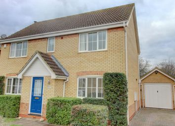 Thumbnail 4 bed detached house for sale in Moat Way, Swavesey, Cambridge