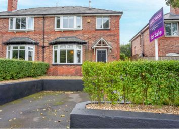 Thumbnail 3 bed semi-detached house for sale in Buxton Road, Macclesfield