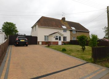 Thumbnail 3 bed semi-detached house for sale in Recreation Road, Stowmarket