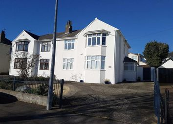 Thumbnail 3 bed semi-detached house for sale in Porth Y Castell, Barry, Barry