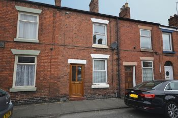 Thumbnail 2 bed terraced house to rent in Welles Street, Sandbach