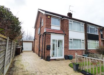 Thumbnail 3 bed semi-detached house for sale in Cartmel Close, Hazel Grove, Stockport