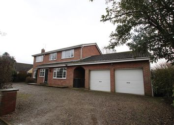 Thumbnail 4 bedroom detached house to rent in Back Lane, Bilbrough, York