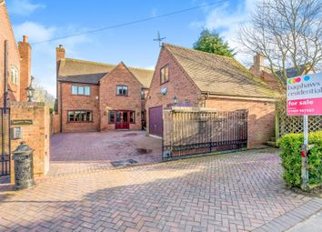 Thumbnail 6 bed detached house for sale in Farm Lane, Leigh, Stoke-On-Trent