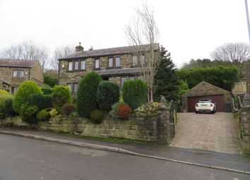 Thumbnail 4 bed detached house for sale in Harden Hills, Shaw, Oldham