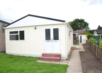 Thumbnail 1 bed property for sale in Meadow Mobile Home Park, Sherfield-On-Loddon, Hook