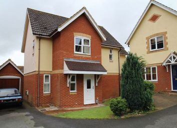 Thumbnail 4 bedroom detached house for sale in Beck Close, Swindon