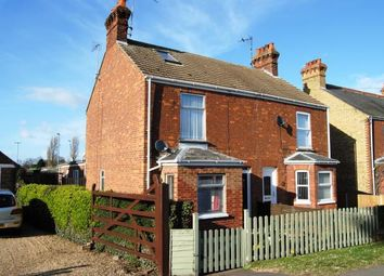 Thumbnail 3 bed semi-detached house for sale in Terrington St. Clement, Kings Lynn