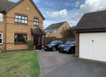 Thumbnail Semi-detached house for sale in Fallow Close, Broughton Astley, Leicester