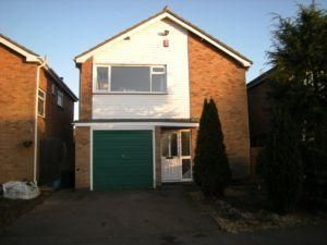 Thumbnail 3 bed detached house to rent in Penney Close, Wigston