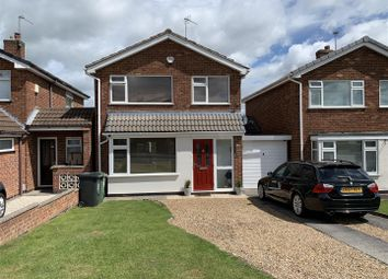 Thumbnail 3 bed detached house for sale in Pembroke Avenue, Syston, Leicester