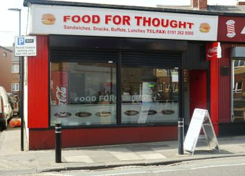 Thumbnail Commercial property for sale in Food For Thought, 80 Park Road, Wallsend