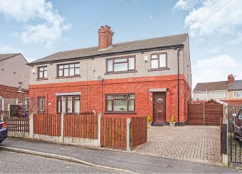 Thumbnail 3 bed semi-detached house for sale in Hill Crescent, Leigh
