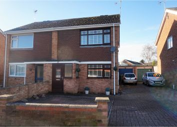 Thumbnail 3 bed semi-detached house for sale in Orchard Road, Broughton Astley