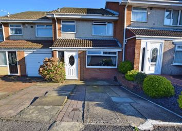 Thumbnail 3 bedroom terraced house for sale in Birkdale Close, Hartlepool