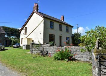 Thumbnail 5 bed farmhouse for sale in Coedmor, Maes Y Meillion, Prengwyn