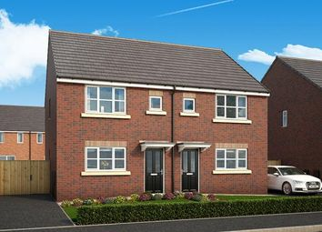 "Thumbnail 3 bed property for sale in ""The Danbury At Queens Way, Doncaster"" at Redland Crescent, Thorne, Doncaster"