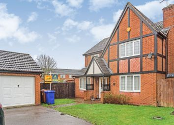 Thumbnail 4 bed detached house for sale in Thrift Road, Burton-On-Trent