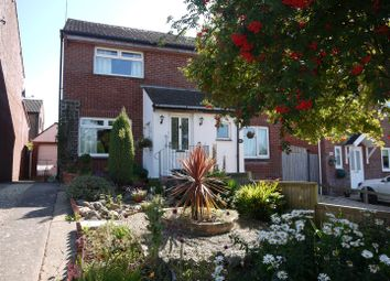 Thumbnail 2 bed semi-detached house for sale in Conybeare Road, Sully, Penarth