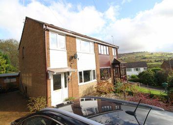 Thumbnail 3 bed semi-detached house for sale in Hilltop Drive, Rossendale, Lancashire