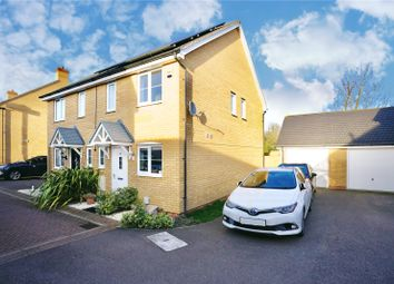 Thumbnail 2 bed semi-detached house for sale in Windmill Place, Papworth Everard, Cambridge, Cambridgeshire