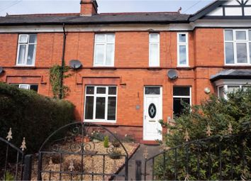 Thumbnail 3 bed terraced house for sale in Ruabon Road, Wrexham