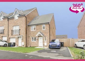 Thumbnail 3 bed end terrace house for sale in Elgar Avenue, Newport