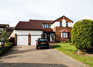 Thumbnail 5 bed detached house for sale in Speedwell Court, Ashington