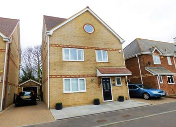 Thumbnail 4 bedroom detached house for sale in Lulworth Close, Hamworthy, Poole