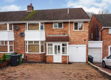 Thumbnail 5 bed semi-detached house for sale in Harport Road, Redditch