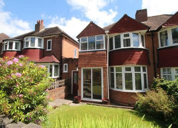 Thumbnail 3 bed semi-detached house for sale in Leach Green Lane, Rednal, Birmingham