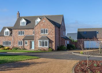 Thumbnail 6 bed detached house for sale in The Oaks, Wicklewood, Wymondham