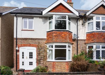 Thumbnail 3 bedroom semi-detached house for sale in Kingsham Road, Chichester