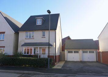Thumbnail 4 bedroom detached house for sale in Burne Jones Avenue, Tadpole Garden Village, Swindon