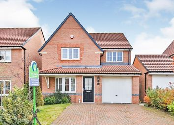 Thumbnail 3 bed detached house for sale in Elliott Way, Consett