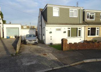 Thumbnail 3 bedroom semi-detached house for sale in Cae Talcen, Pencoed, Bridgend